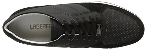 Karl Lagerfeld Derek, chaussons d'intérieur homme Noir (Schwarz)990