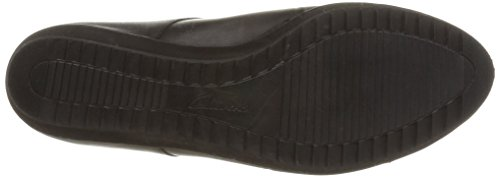Clarks Compass Fayre, Chaussures de ville femme Noir (Black Leather)
