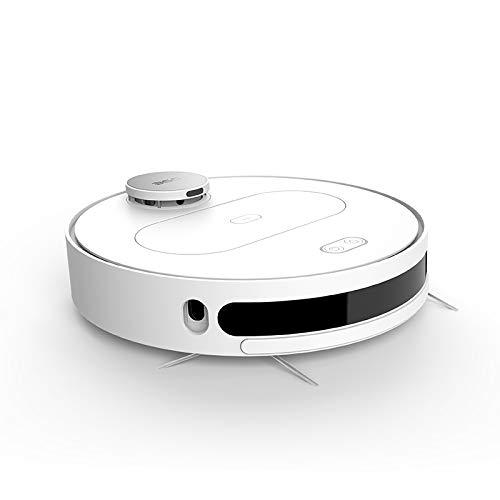 Staubsauger Roboter mit Wischenfunktion (APP Steurung, LDS, Wischroboter mit Intelligenter Navigation, 1800Pa Saugleistung, HEPA-Filter, Geeignet für Tierhaare, Teppiche und Hartböden)