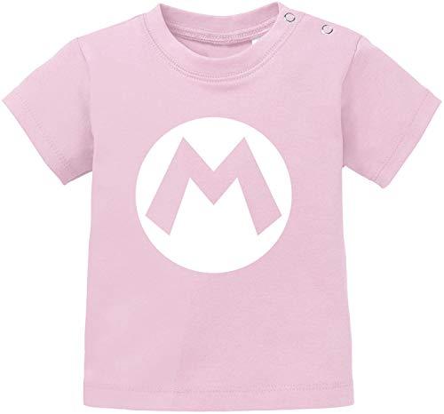 Kostüm Kleinkind Mario Luigi - AngryShirts Mario Kostüm T-Shirt Baby Bio Baumwolle