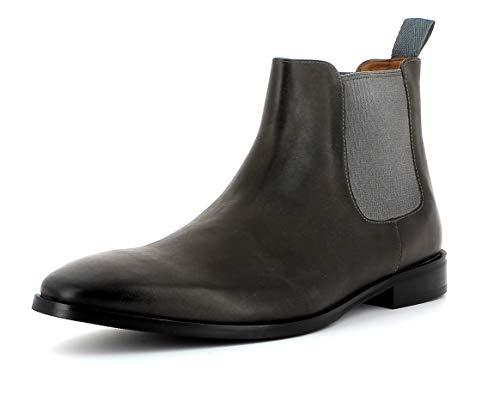 Gordon & Bros Herren Chelsea Boots, City S181837 Männer Stiefel,Halbstiefel,Bootie,Schlupfstiefel,flach,Grey,44 EU / 10 UK -