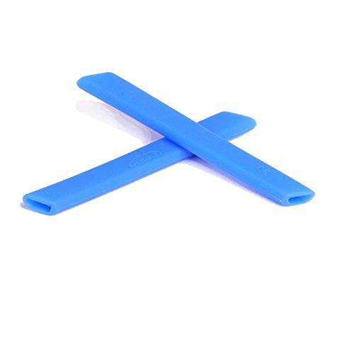 Walleva Earsocks für Oakley Jawbone/Split Jacket/Straight Jacket Blau