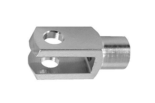 """Schottverschraubung Edelstahl PN 40 Schottnippel 1//2x3//8/"""""""