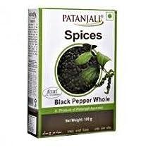 PATANJALI BLACK PEPPER WHOLE 100 G