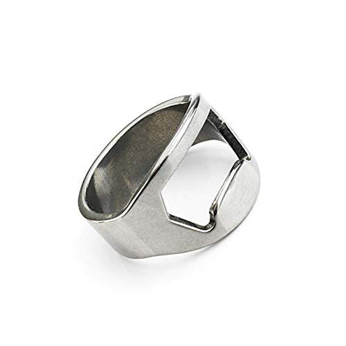 Gespout Flaschenöffner Ring Größe: 8, Durchmesser: 1.82 cm Für Bier Party Hochzeit Geschenke Werbeartikel-Geschenke Bar lBottle Opener