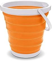 Milton Collapsible 18 (Foldable) Bucket, 17 Litres, Orange