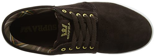 K-swiss Herren Hammer Low-top Brown (demitasse-bianco)