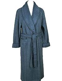 a1af495f863 Val d Arizes Laine des Pyrénées - Robe de chambre col châle poignets ...