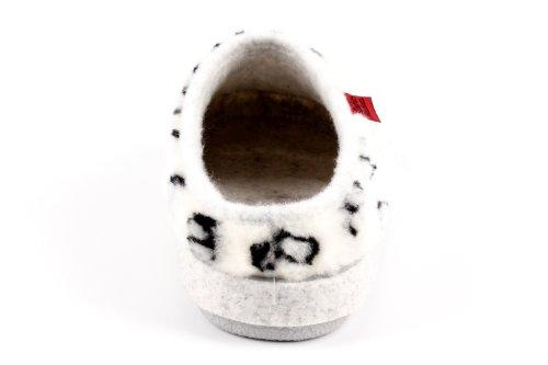 Das Made Im Hausschuhe 1984 Original Fußbett Machado Mit Seit Weiss Spain Am001 In Andres Buchstaben Plüschlook 4WqYPqE