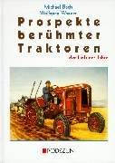 Prospekte berühmter Traktoren der fünfziger Jahre (Traktor Sammlerstücke)