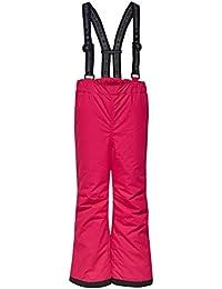 LEGO Wear Tec Mädchen Ping 790, Pantalones para la Nieve para Niñas, (Dark Pink 490), 122 cm