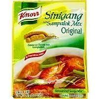 Knorr Sinigang sa Sampalok Original Mix 40g Shinigan que contiene 4 bolsas originales conjunto de sopa