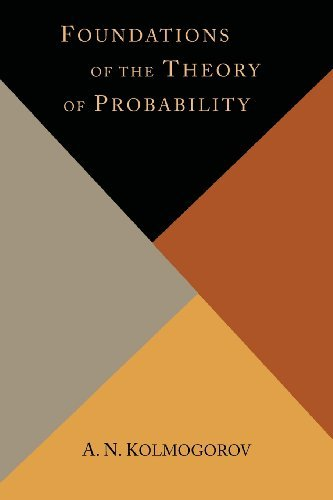 Portada del libro Foundations of the Theory of Probability by A. N. Kolmogorov (2013-11-06)