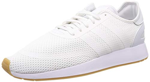 adidas Herren N-5923 Gymnastikschuhe, Weiß (Ftwr White/Ftwr White/Gum4), 44 EU(9.5UK)