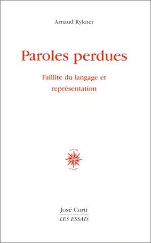 Paroles Perdues [Pdf/ePub] eBook