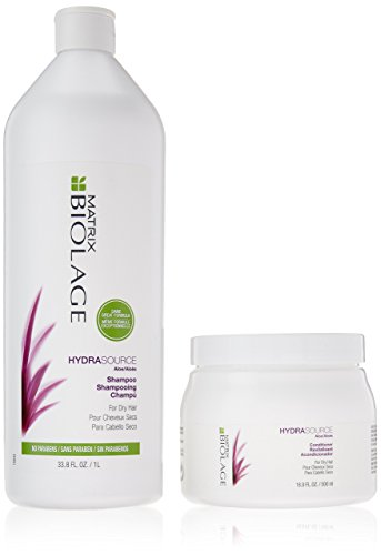 Matrix Biolage Hydra Source Shampoo & Conditioner Combo Pack by Matrix Biolage -