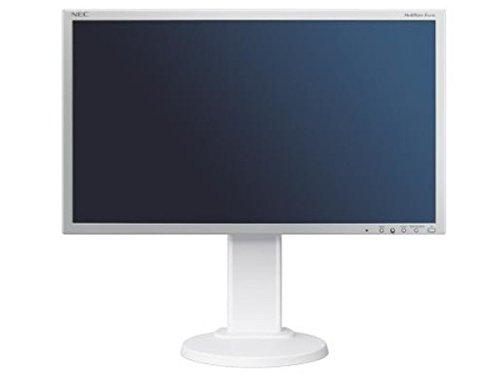 NEC MultiSync EA275WMi 27-Inch Monitor (White) - (1000:1, 16:9, 350cd/m, 2560 x 1440, 6ms, DVI-D/HDMI/Displayport)