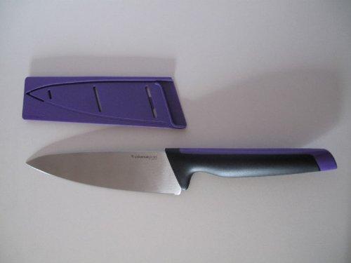 TUPPERWARE D190 Kochmesser Messer Ergonomic Xpert Universal-Serie Lila Koch