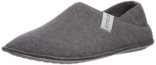 crocs Unisex-Erwachsene Classic Convertible Slipper Hohe Hausschuhe, Grau (Charcoal/Pearl White 01r), 45/46 EU