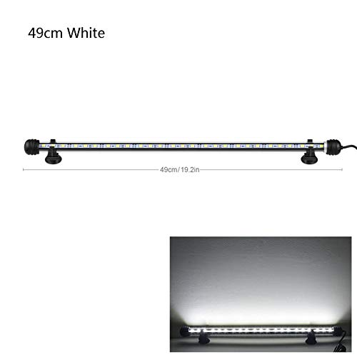 9cm 29cm 39cm 49cm Aquarium LED Aquarium Licht LED Röhre 9/15/21 / 27leds Bar Licht Tauchen Wasserdicht 100-240 V EU Stecker Aquarium Licht Aquarium Pflanze Aquarium Blase Licht Für Aquarium