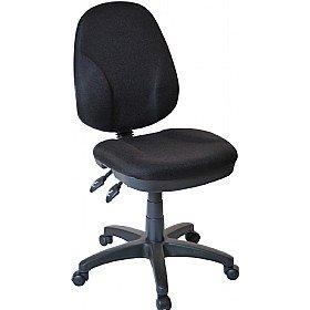 Comfort Ergo 2-Lever Operator Chair - Black