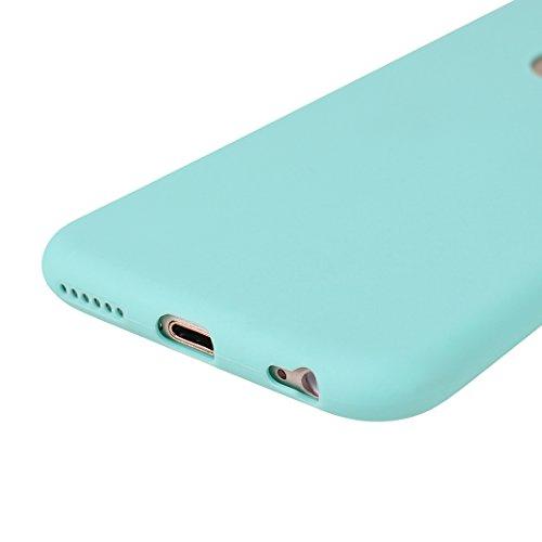 iPhone 6S Hülle Dünn Silikon, Asnlove Handy Schutzhülle für Apple iPhone 6 / 6S Hülle TPU Silikon Backcover Case Handytasche Einfarbig Telefon-Kasten Tasche Schutz Cover Design Rose Color-8