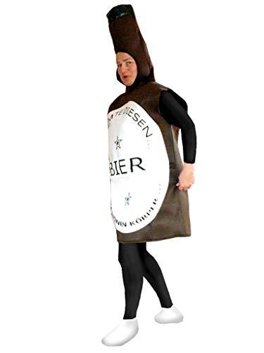 PUS Bier- Flasche-n Kostüm-e To48 Gr. M-L, Kat. 1, Achtung: B-Ware Artikel. Bitte Artikelmerkmale lesen! Frau-en Männer Erwachsene Bier-Krug Fasnacht-s Fasching-s Karneval-s Geburtstag-s Geschenk-e (Bierkrug Erwachsenen Kostüme)