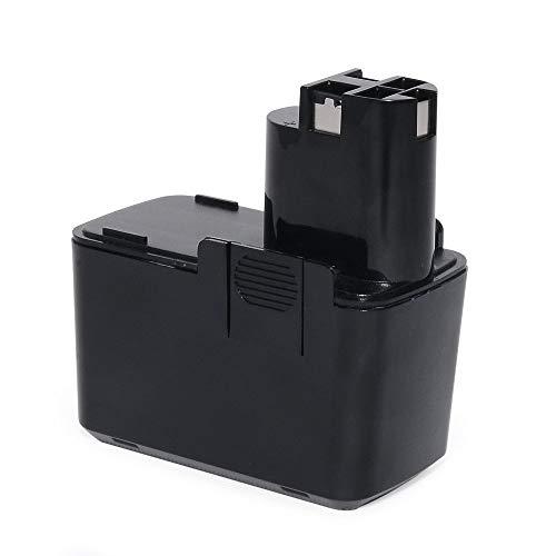 POWERAXIS für Bosch Akku 12V 3,0Ah Ni-MH Akku für BOSCH PSR 12 VES-2 PSB 12VSP-2 PSR 120 2607335055 2607335071 2607335108 2607335145 2607335172 2607335054 2607335081 2607335090 Bat011 BH1214H BH1214L