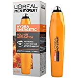 L'Oréal Paris Men Expert Hydra Energetic Roll-On Occhi Anti-Borse e Anti-Occhiaie, con Estratto di Guaranà e Vitamina C, 10 ml