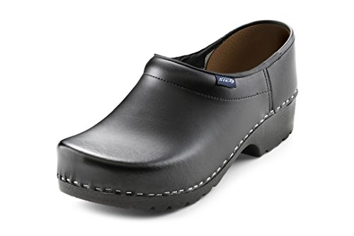Sika Sika Footwear Traditionell Arbeits-Clogs schwarz | 45