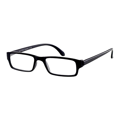 I Need You Lesebrille Action/schwarz-matt / +2 Dioptrien