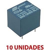 10X Rele 12v 10A SDR