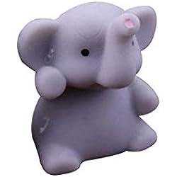 FEIDAjdzf Spielzeug zum Stressabbau, niedliches Tier-Elefant, zum Ausdrücken von Heilung und Spaß, für Kinder grau