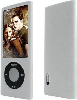 MaryCom Silikon Case Weichschale Hülle Tasche für Apple iPod Nano 5G mit Kamera in Weis 8GB , 16GB , 32GB / SCW Nono5