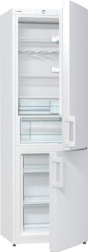 Preisvergleich Produktbild Gorenje RK 6193 EW Kühl-Gefrier-Kombination / A+++ / Höhe 185 cm / Kühlen 229 L / Gefrieren 95 / LED Beleuchtung / weiß