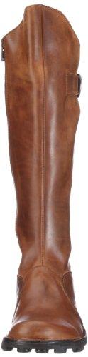 Fly London Mol Leather P142912, Stivali da Donna Marrone (Camel 043)