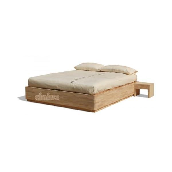 Box letto contenitore in legno massello di faggio | CasaMe