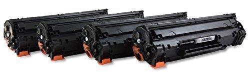 Hp B&w Laserjet (Bubprint 4 Toner kompatibel für HP CE285A 85A CE285X für Laserjet Pro M1100 M1132 M1136 M1200 M1212NF M1217NFW MFP P1102W P1108 P1109W Schwarz 2.100 Seiten)