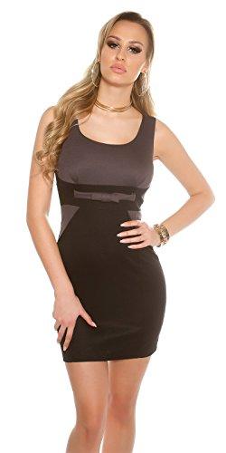 In-Stylefashion -  Vestito  - Donna Grigio scuro