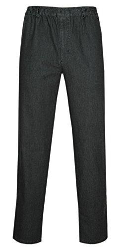 Herren Jeans Stretch Schlupfhose Schlupfjeans ohne Cargo-Taschen-Schwarz-2XL 45d0f16faa
