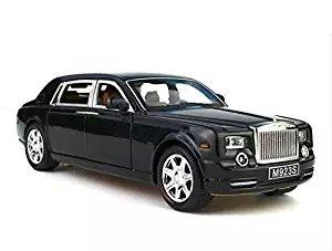 Toy car,Greshare 1:24 Rolls-Royce Phantom Diecast Sound & Light &