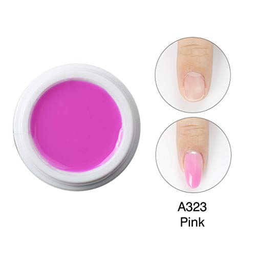 Poly Gel Nail Gel Tips Extension de Camouflage Builder Gel Manque Extension de Colle à Ongles