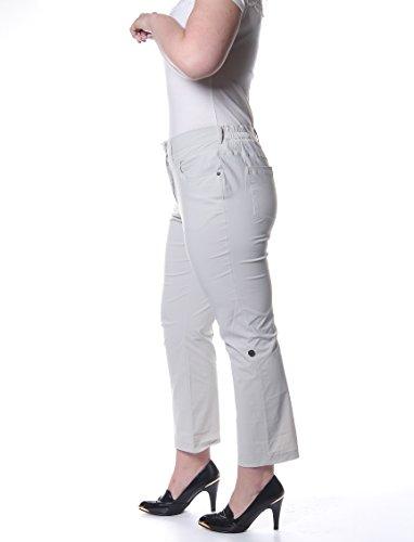 M Collection -  Pantaloni  - skinny - Donna Beige