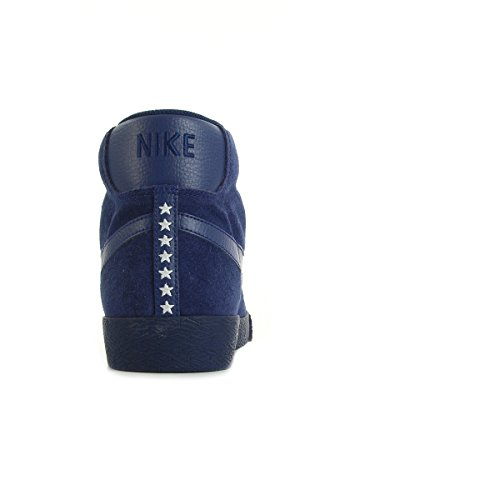Nike Blazer Mid Prm Vntg, Chaussures de Sport-Basketball Homme, Bleu, Talla Multicolore (Azul / Marrón (Loyal Blue / Lyl Bl-Gm Lght Brwn))
