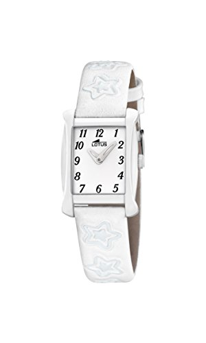 Lotus 18256/1 Reloj de pulsera de cuarzo analógico unisex, piel