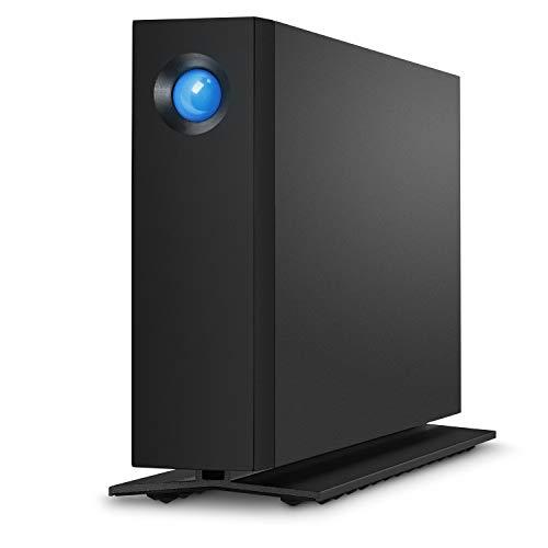 "LaCie STHA6000800 d2 Professional, 6 TB, externe 3.5\"" professionelle Desktop Festplatte im Aluminiumgehäuse, USB-C Schwarz"