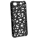 Global Black Color / Bird Nest Design Hard Case / Skins / Cover for iPhone 5 ...