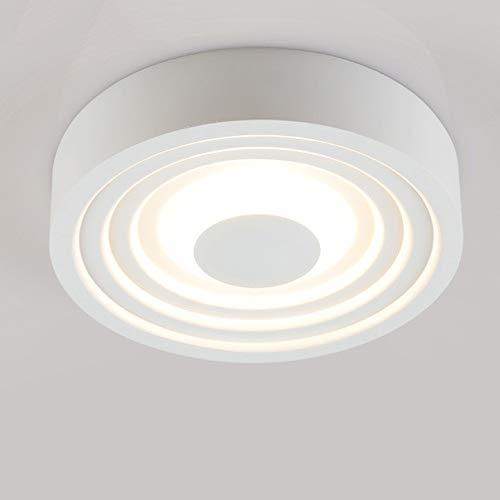 Mumnk Super helle LED Strahler Einbauenergiesparhaushalts Celling-Panel Licht Kreative Stacking Leuchtturm Gewerbe Dekor Beleuchtung Embedded Integrierte Scheinwerfer 6W Round Weiß -