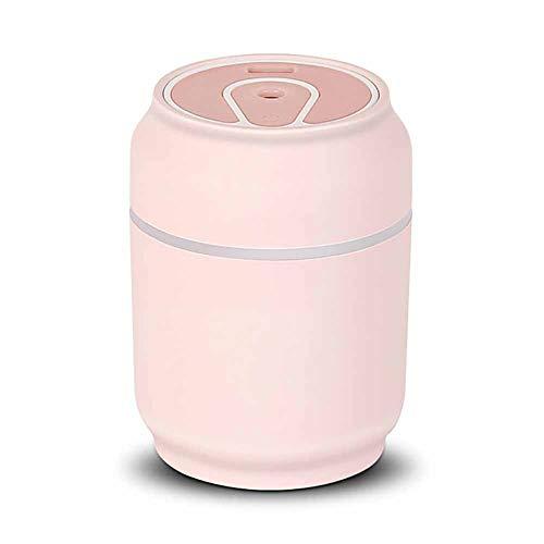 Multifunktions Luftreiniger Staubsauger Auto Mini Dosen Luftbefeuchter Home Desktop Tragbare Stumm USB DREI-In-One Luftreinigung Staubsauger,Pink (Mini-desktop-roboter-staubsauger)