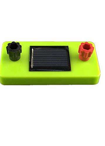 juler 5pcs Solarpanel Junior High School Physik Experiment Ausrüstung Neue Energie Solar Power Board, Einheitsgröße